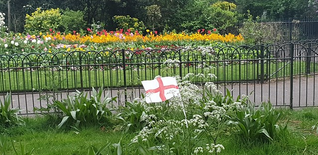 London - St George's Flag