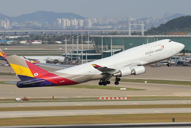 HL7415  -  Boeing 747-48E (BDSF)  -  Asiana Airlines Cargo  -  ICN/RKSI 6/10/19