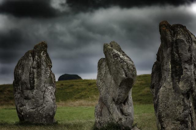 Mysterious Avebury Stone Circle, England