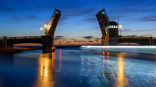 belmarbridge belmar belmarnewjersey newjersey jerseyshore longexposure sunrise dawn bridge