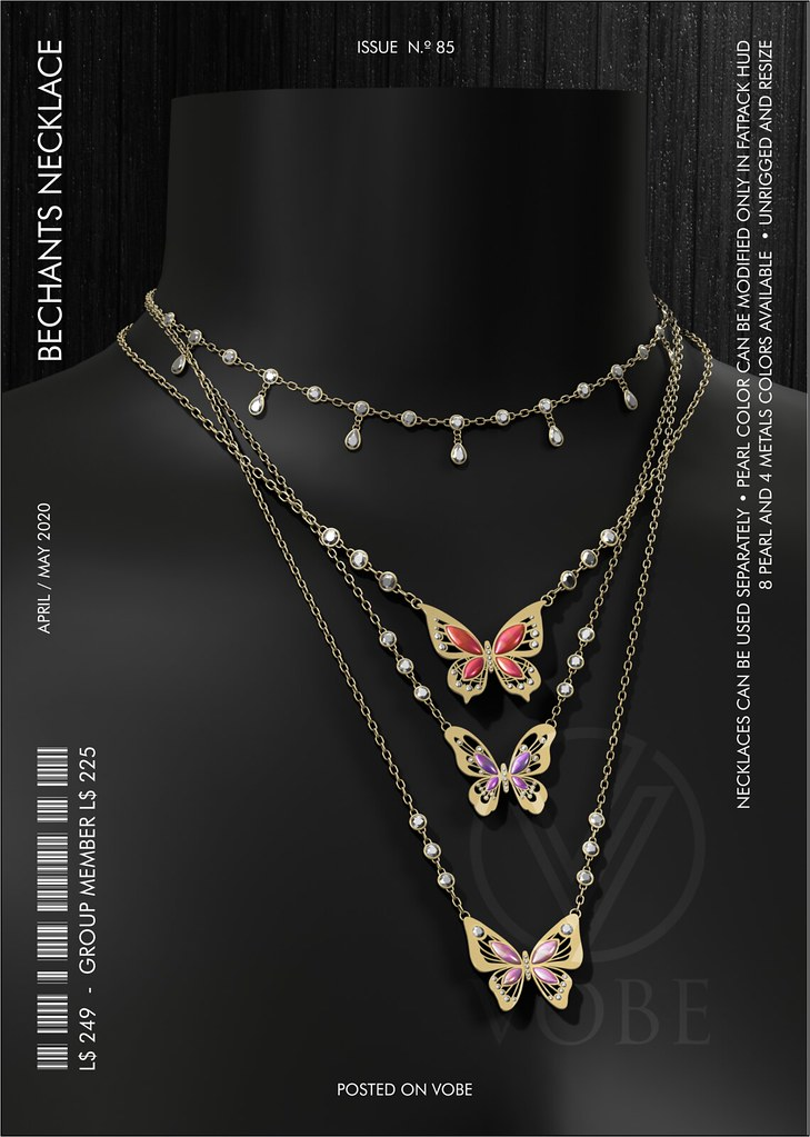 "VOBE for UBER – ""Bechants"" Layered Necklace"