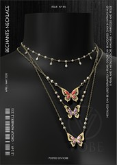 "VOBE for UBER - ""Bechants"" Layered Necklace"
