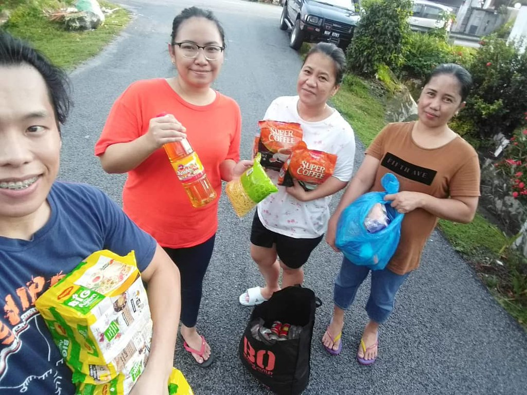2020-4 Malaysia: AMMPO food distribution in time of COVID-19 crisis
