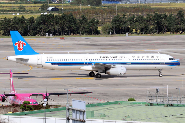 B-6398  -  Airbus A321-231  -  China Southern Airlines  -  GMP/RKSS 6/10/19