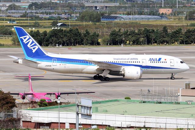 JA803A  -  Boeing 787-8 Dreamliner  -  All Nippon Airways  -  GMP/RKSS 6/10/19