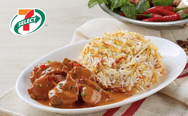 7-11 Butter Chicken Briyani