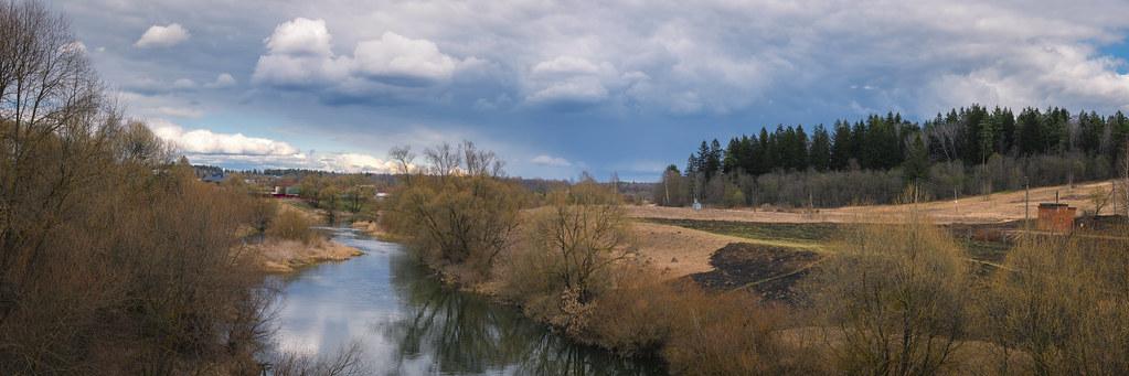 Река Протва в апреле. Автор фото: Вячеслав Степанов