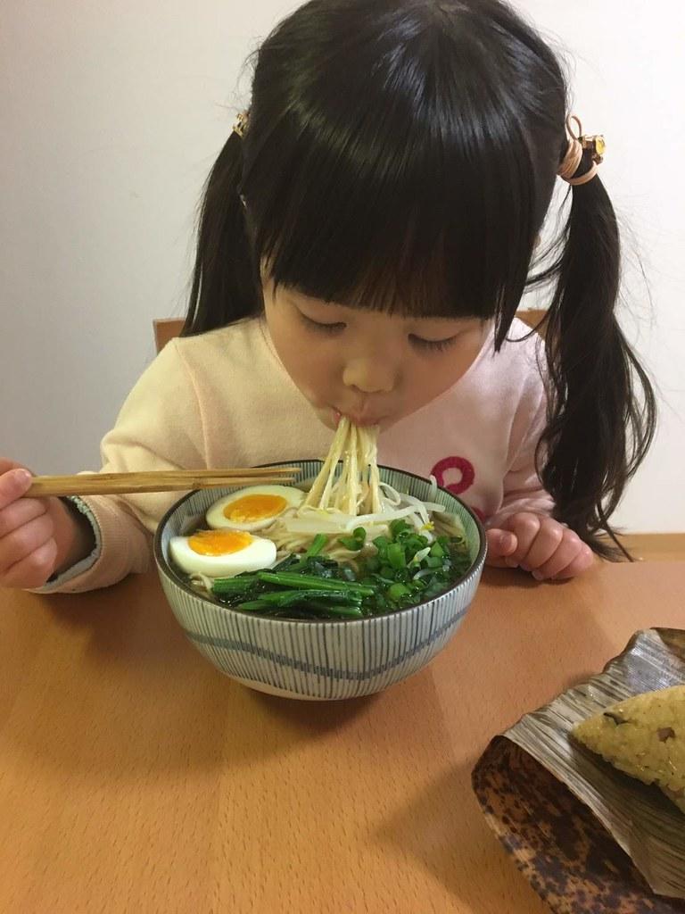 中華そば(麺とスープ)