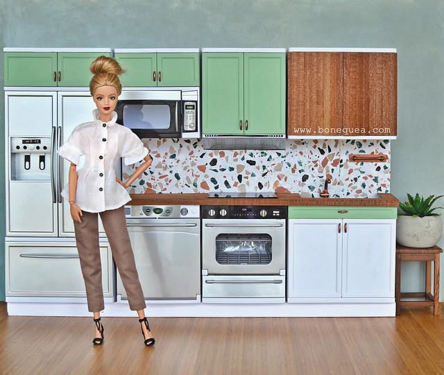 Cómo personalizar una cocina para Barbie