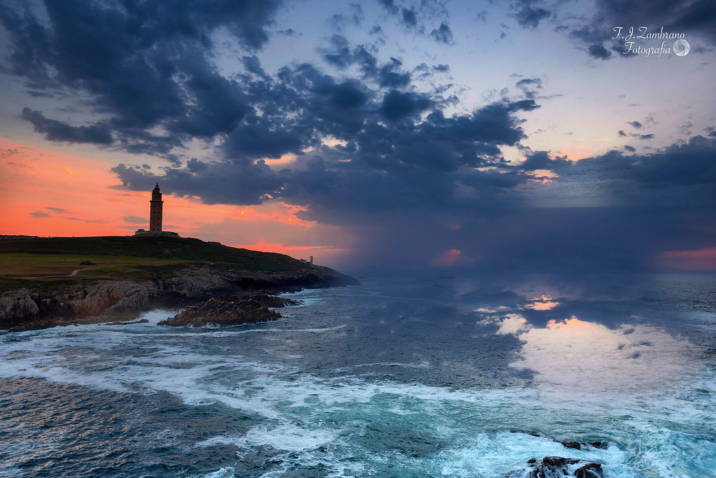 Sunset ::: Hercules Tower ...