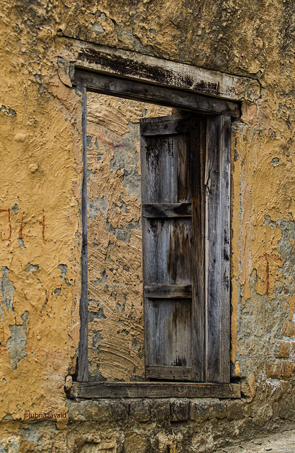 An old wooden door, Said Pur Village, Islamabad - Pakistan