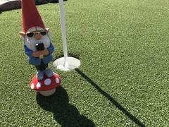 TheGnomeDude golfing