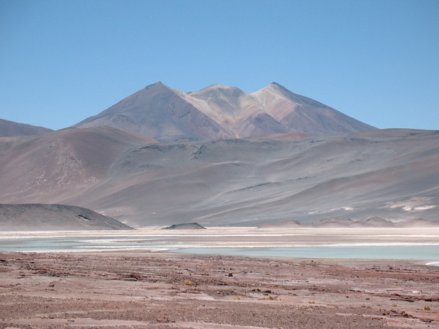 CHILE - 1910_1911 / San Pedro de Atacama, entorno / Salar de Talar