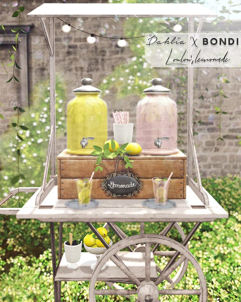Dahlia X BONDI – Loulou's Lemonade For Uber