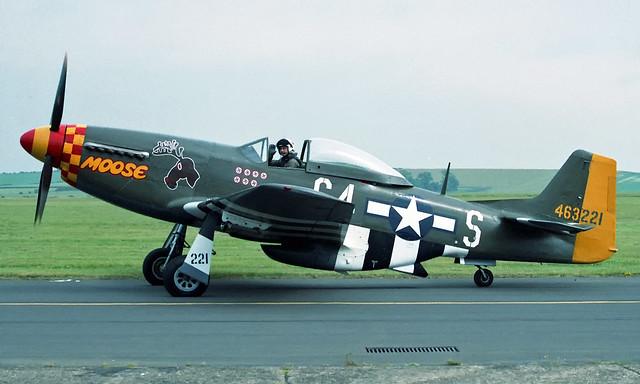 North American P-51D Mustang G-BTCD