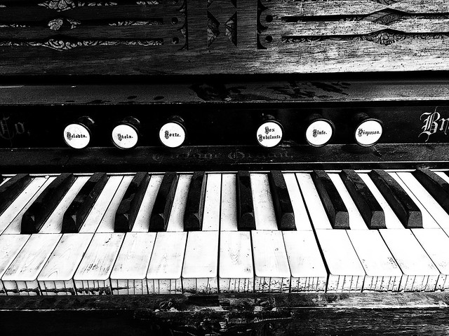 IMG_8426bw Vintage keyboard