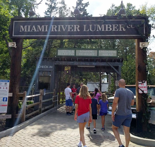 Kings Island - Mystic Timbers Roller Coaster