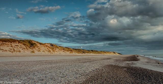 Strand in Blokhus Dänemark