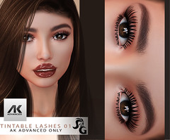 AK Advanced tintable Lashes