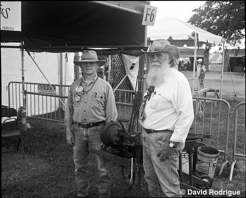 Louisiana Folklife Village at Jazz Fest. Photo by David Rodrigue.