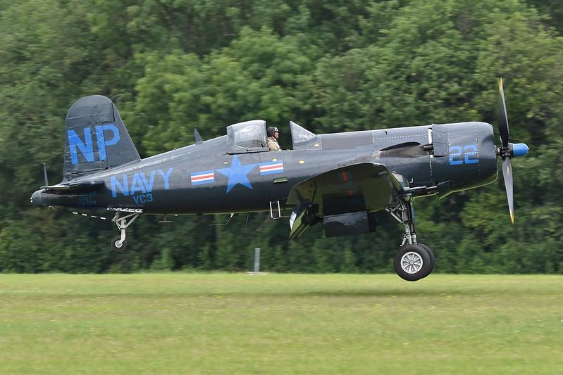 Vought F4U-5NL Corsair '124724 / NP-22' (F-AZEG)