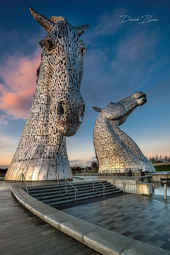 kelpie kelpies scotland sculpture falkirk horses