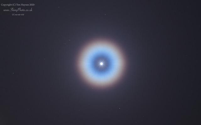 Corona around Venus