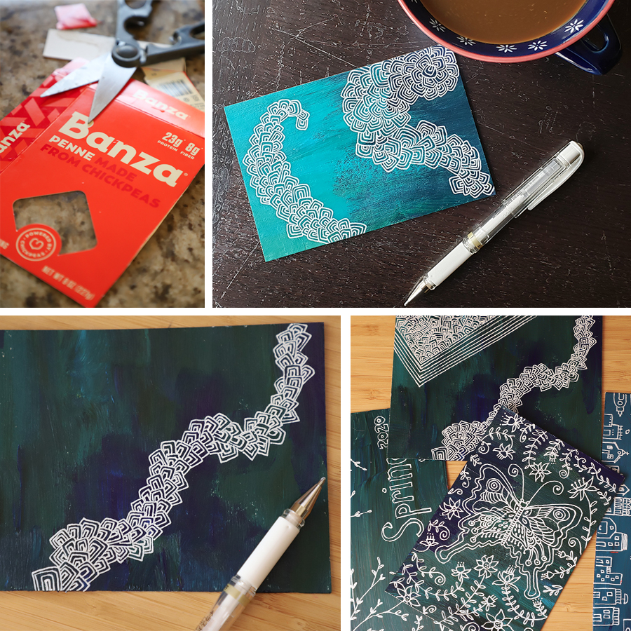 recycled-postcards-corona-mail