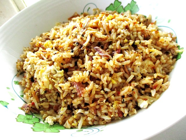 Kampung-style belacan fried rice 2