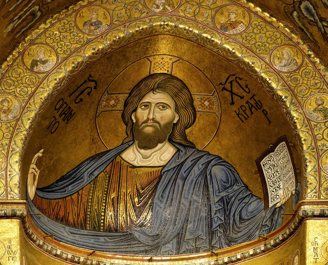 Thu, 09/15/2016 - 14:35 - Christ Pantocratic - Monreate Cathedral, Sicily 15/09/2016