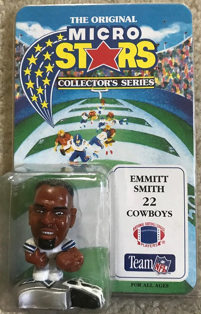 1994 NFL Microstars - Emmitt Smith