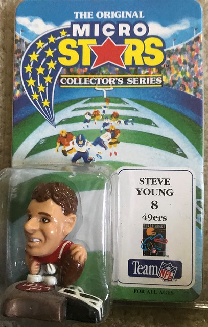 1994 NFL Microstars - Steve Young