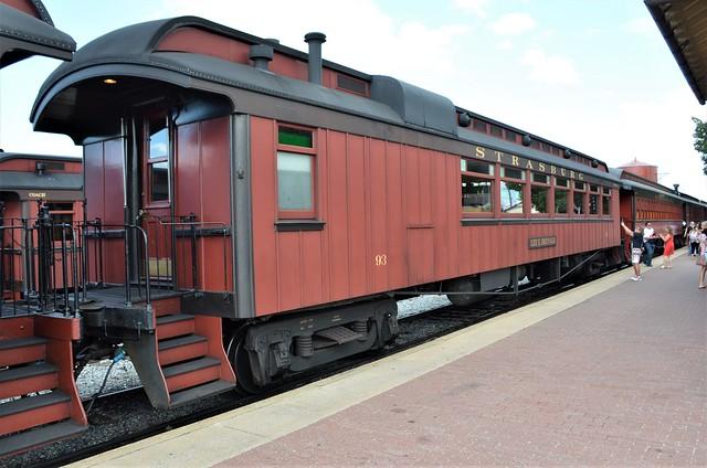 Boston & Maine Railroad; Strasburg Rail Road No. 93,