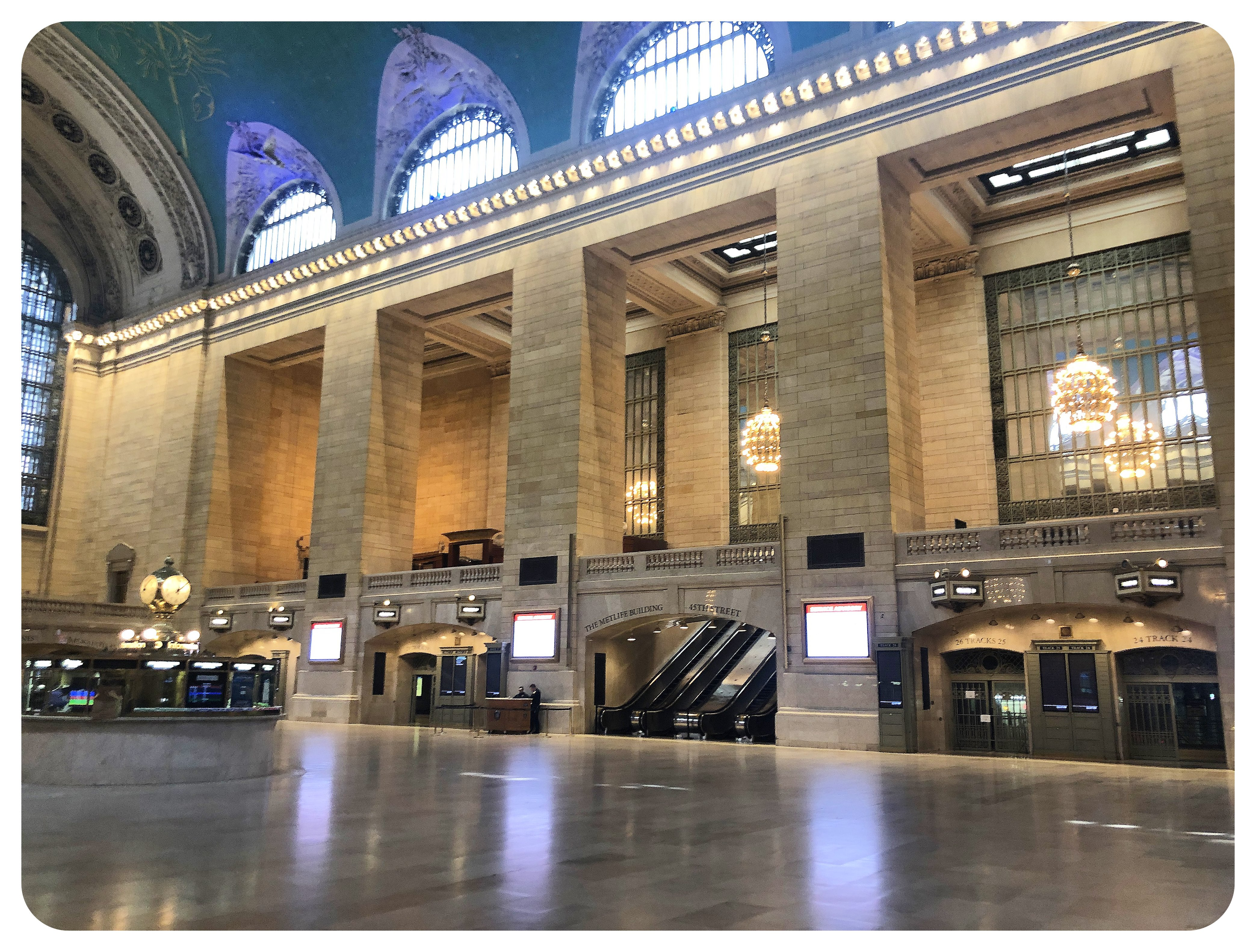 grand central terminal nyc during COVID-19