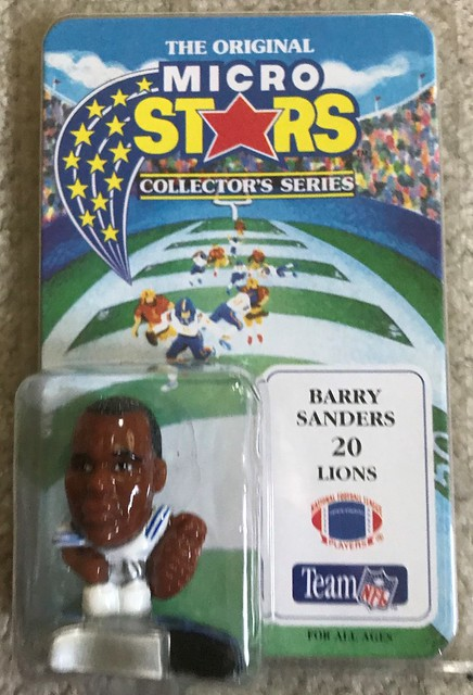 1994 NFL Microstars - Barry Sanders