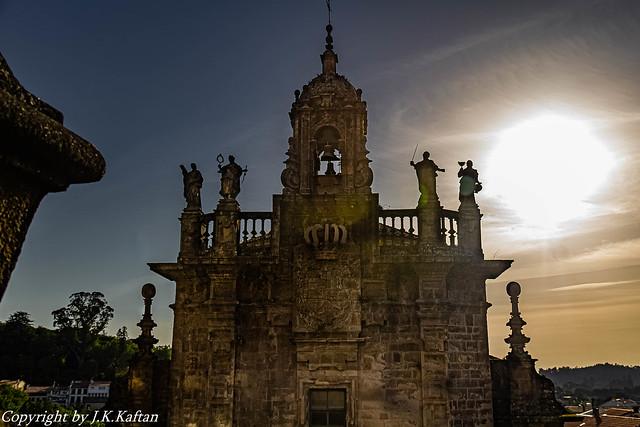A Sunset in Santiago de Compostela,  Un Atardecer en Santiago de Compostela, ( en Explore)