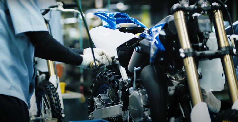 Yamaha YZ125 Assy