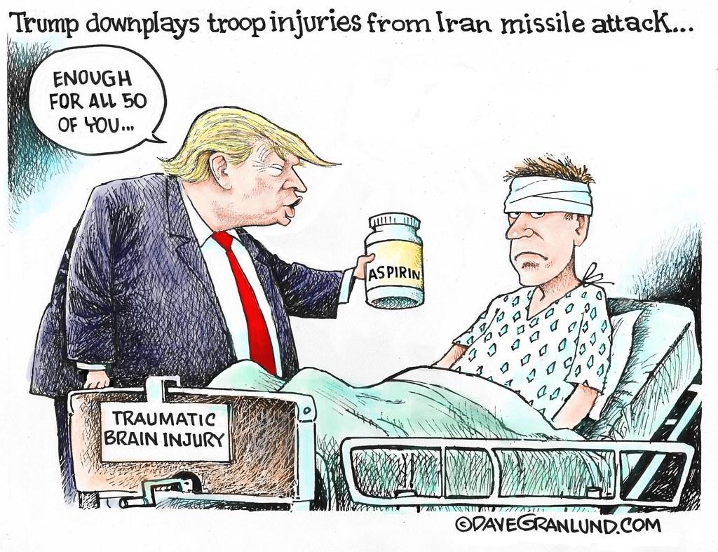 264 Trump Cartoon Troop Injuries