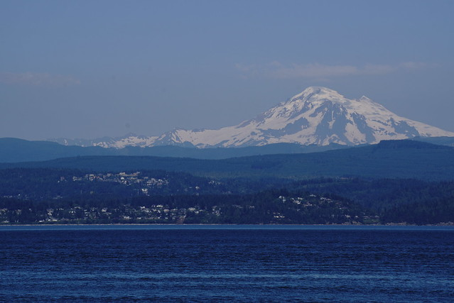 Mt. Baker from the San Juan Islands