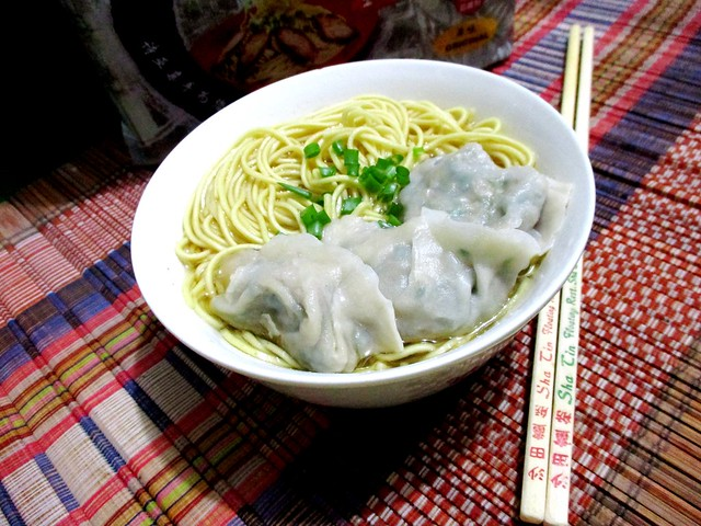 Instant kampua, soup & dumplings 2