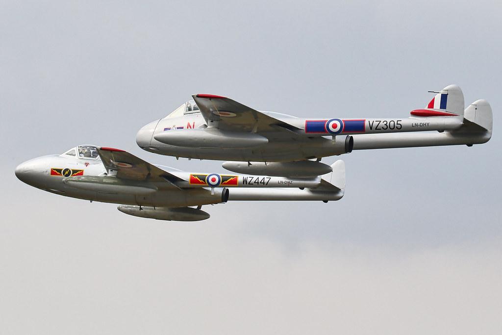 de Havilland Vampire RIAT2018 Air Tattoo