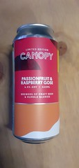 Canopy - Passionfruit & Raspberry Gose 4.5% (440 ml can)