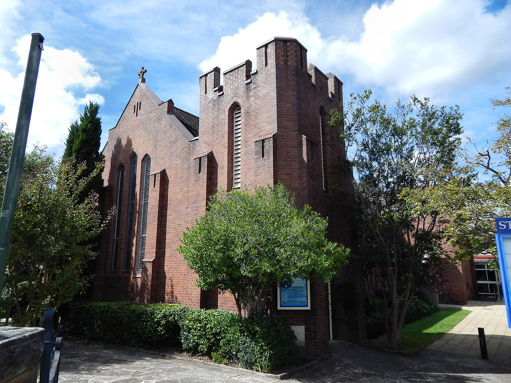 St Albans Anglican Church, Lindfield, Sydney, NSW.