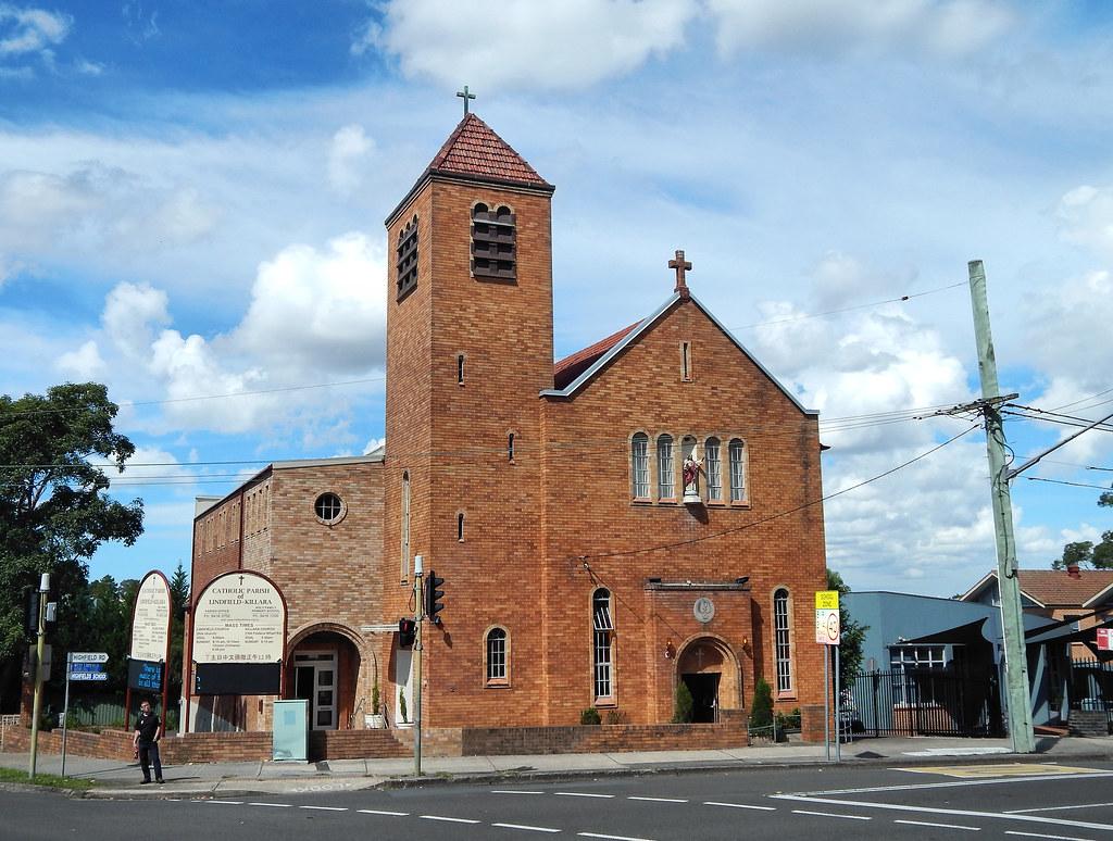Catholic Parish of Lindfield Killara, Lindfield, Sydney, NSW.