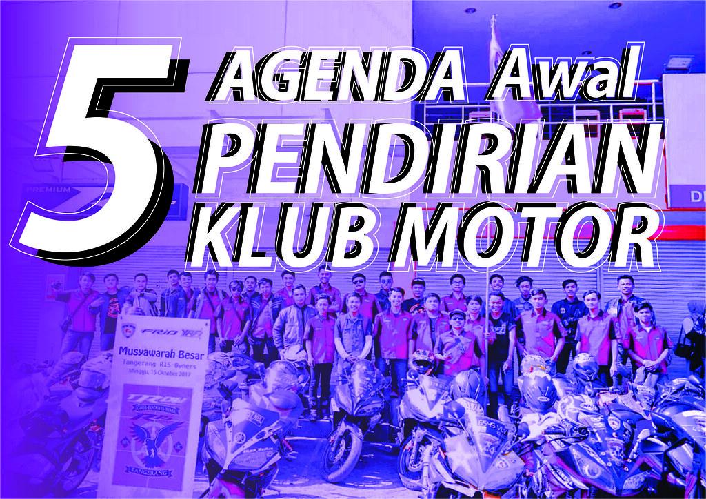 Agenda Pendirian Klub