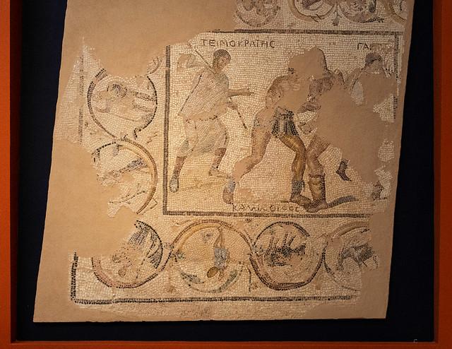 Roman Pelopponese VI -  Gladiators' Mosaic