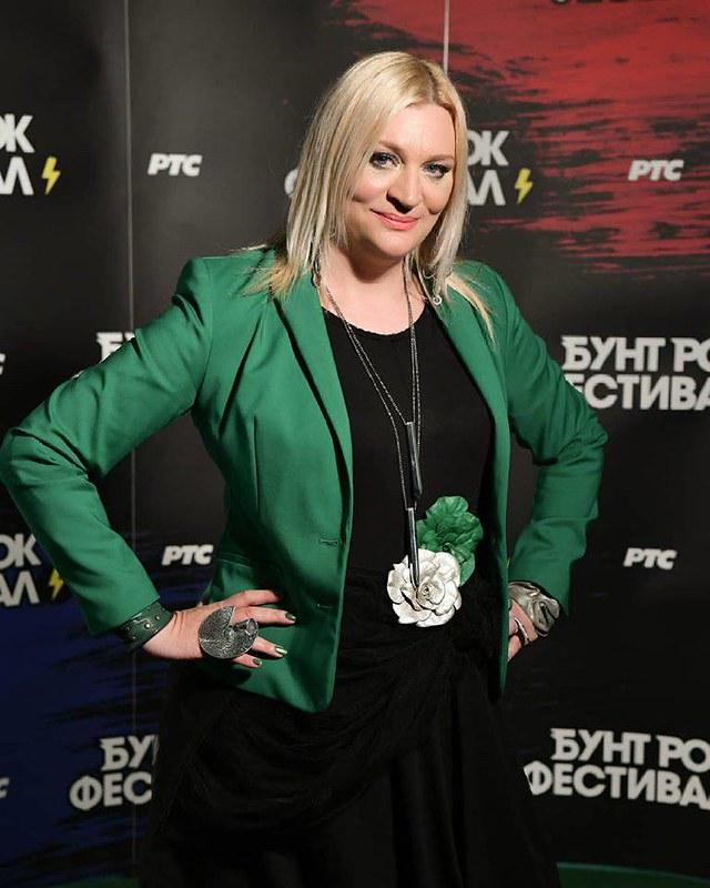 Branka Glavonjic autorka Bunt rok festivala