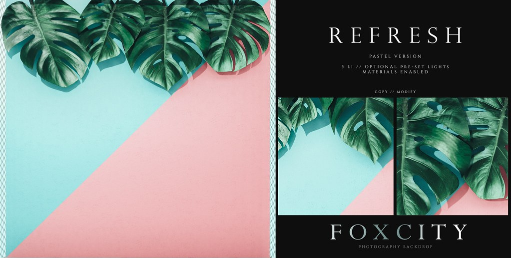 FOXCITY. Photo Booth – Refresh (Pastel) AD