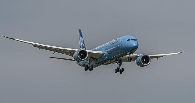 ZRH LSZH / Etihad / Boeing B787-9