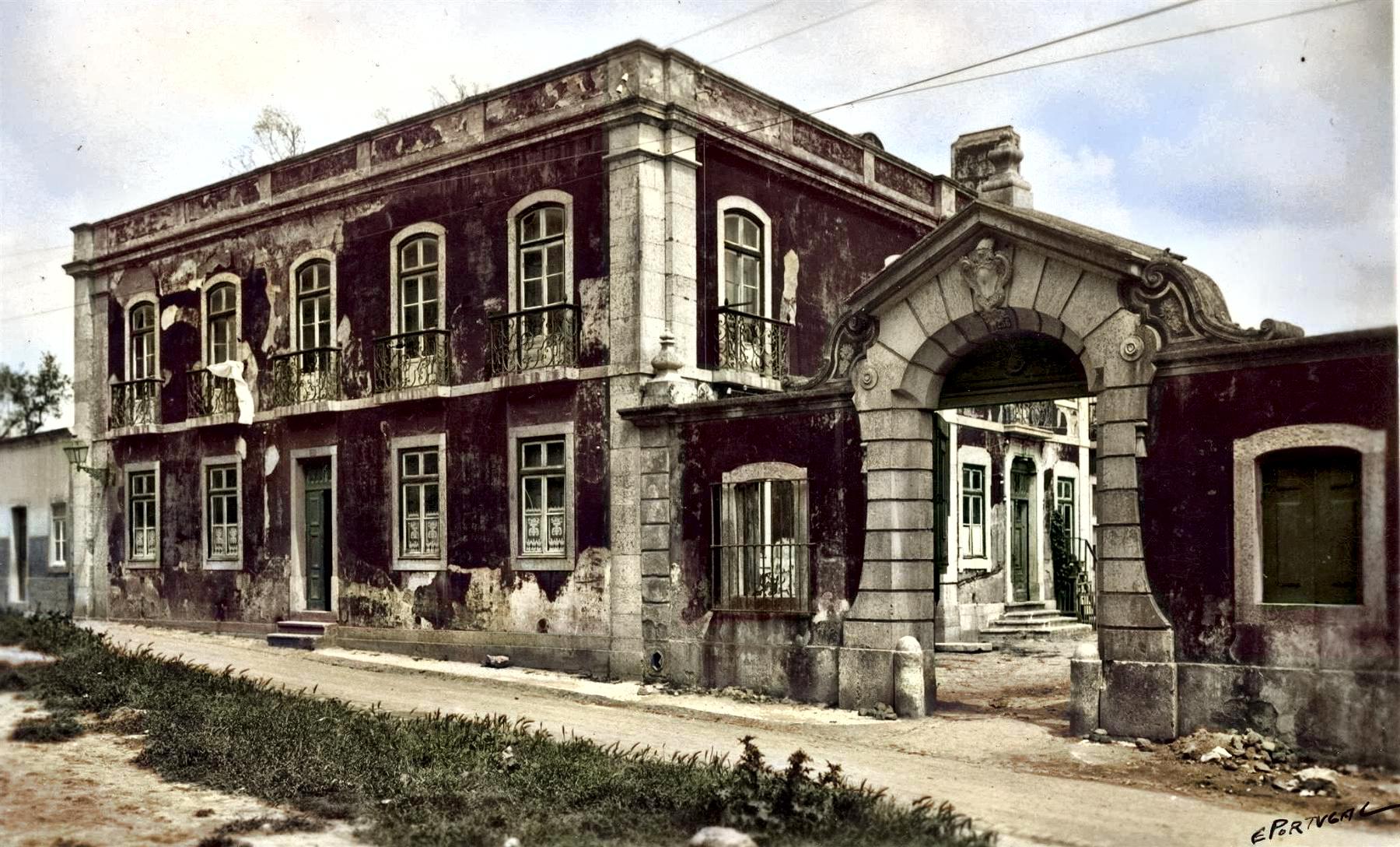 Palacete (Estr. de Sacavém/R. Alves Torgo, 256), Lisboa (E. Portugal, c. 1940)